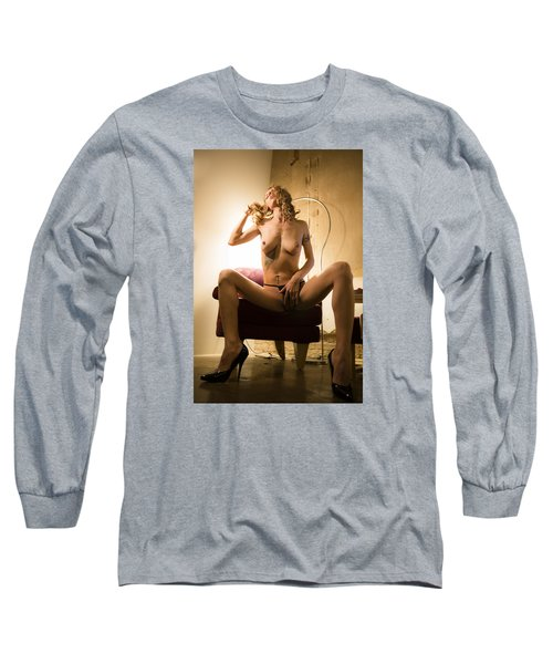 Long Sleeve T-Shirt featuring the photograph Deep Thoughts by Mez