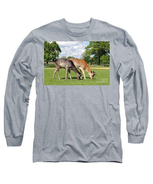 Two Deer Long Sleeve T-Shirt