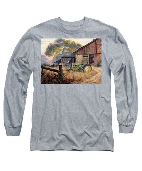 Deere Country Long Sleeve T-Shirt by Michael Humphries