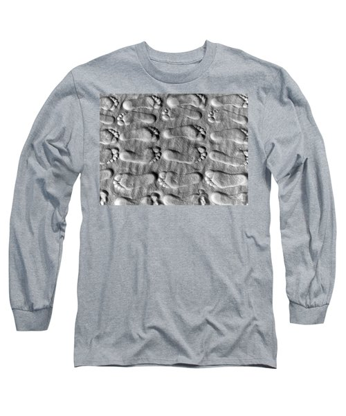 Deliberately Grainy Long Sleeve T-Shirt by Charlie and Norma Brock