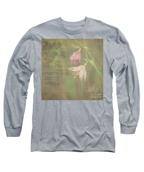 Delicate Blooms Long Sleeve T-Shirt