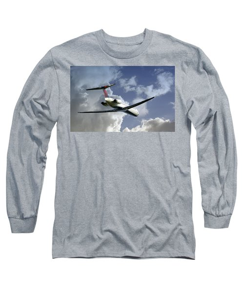 Delta Jet Long Sleeve T-Shirt by Brian Wallace