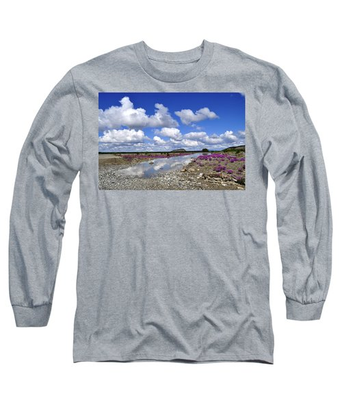 Long Sleeve T-Shirt featuring the photograph Delta Junction Summer by Cathy Mahnke