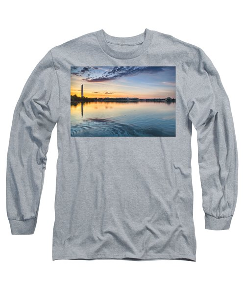 Long Sleeve T-Shirt featuring the photograph Democracy Awakens by Sebastian Musial
