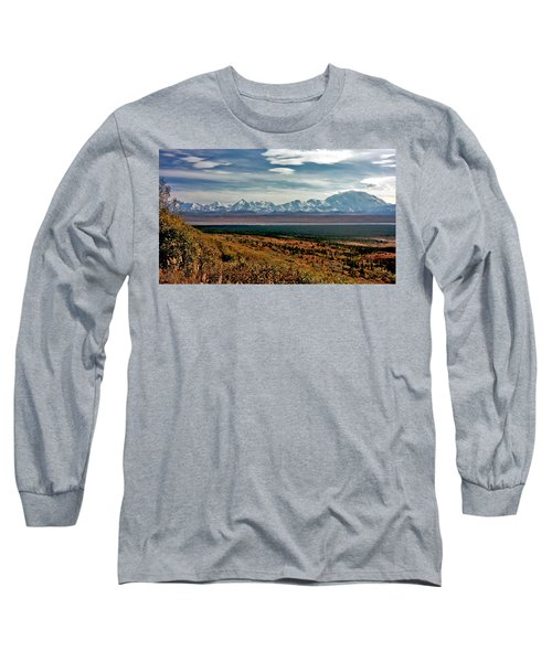 Long Sleeve T-Shirt featuring the photograph Denali Colors by Jeremy Rhoades