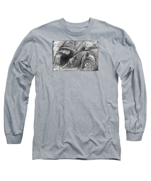 Long Sleeve T-Shirt featuring the photograph Dented Ego by Jean OKeeffe Macro Abundance Art