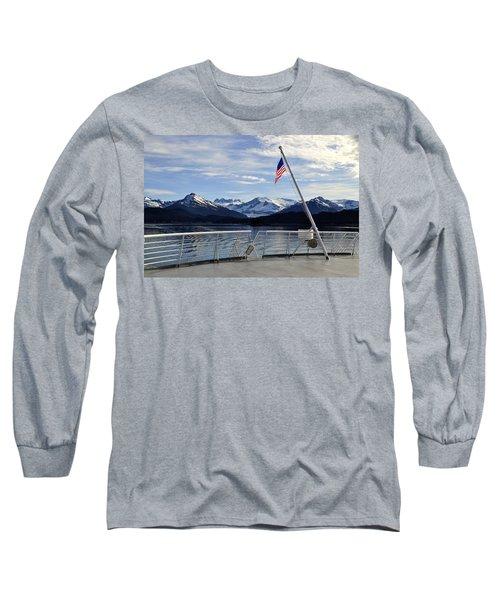 Departing Auke Bay Long Sleeve T-Shirt
