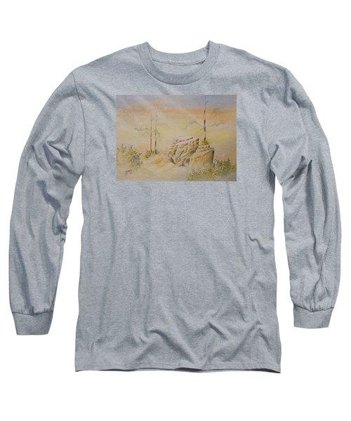 Deschutes Canyon Long Sleeve T-Shirt by Richard Faulkner