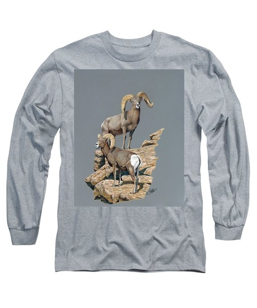 Desert Bighorn Rams Long Sleeve T-Shirt