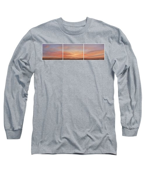 Desert Sky Triptych Long Sleeve T-Shirt