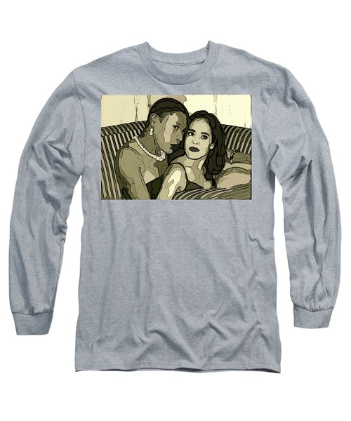 Long Sleeve T-Shirt featuring the photograph Deux by Alice Gipson
