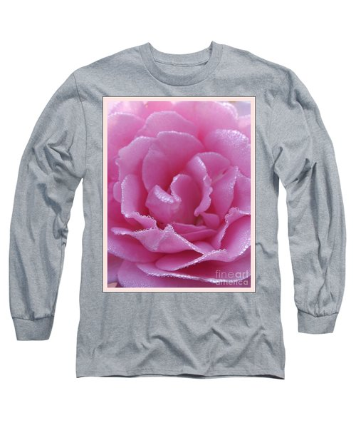 Dew Kissed Rose Long Sleeve T-Shirt