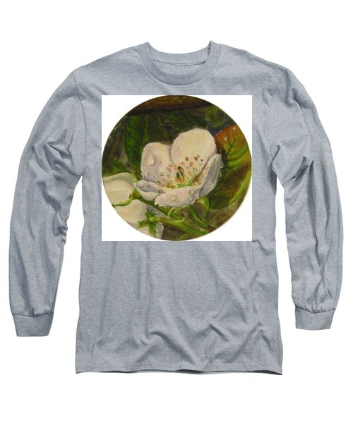Dew Of Pear's Blooms Long Sleeve T-Shirt