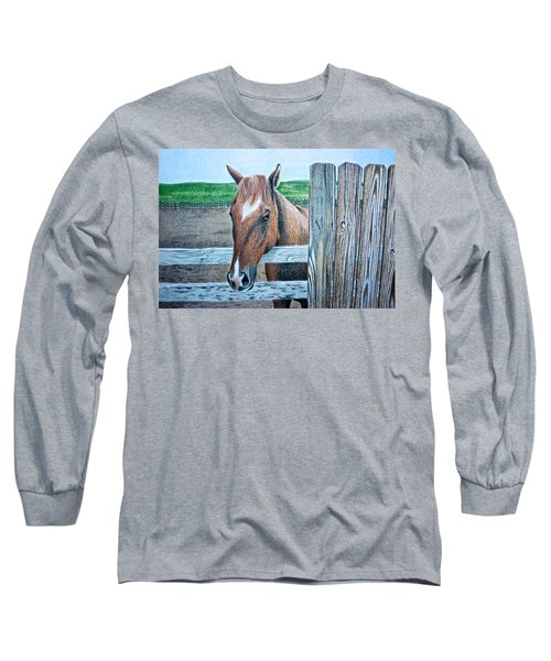 Diamond Long Sleeve T-Shirt by Dustin Miller