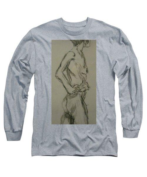 Diana Long Sleeve T-Shirt by David Trotter