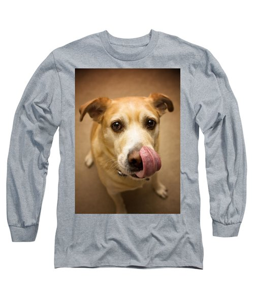 Did You Say Bacon? Long Sleeve T-Shirt by Aaron Berg