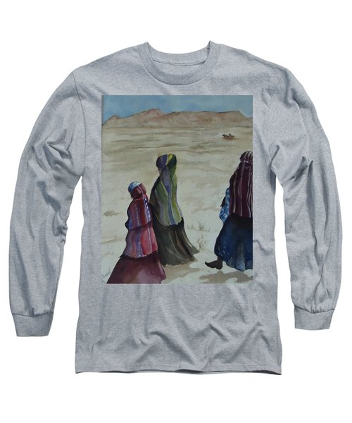 Dineh Leaving The Trading Post Long Sleeve T-Shirt