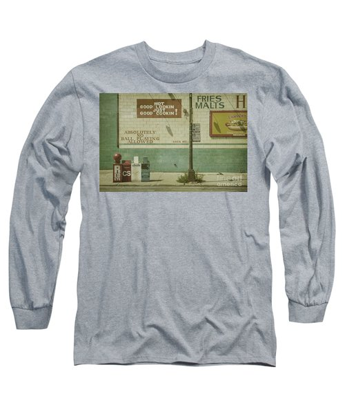 Diner Rules Long Sleeve T-Shirt