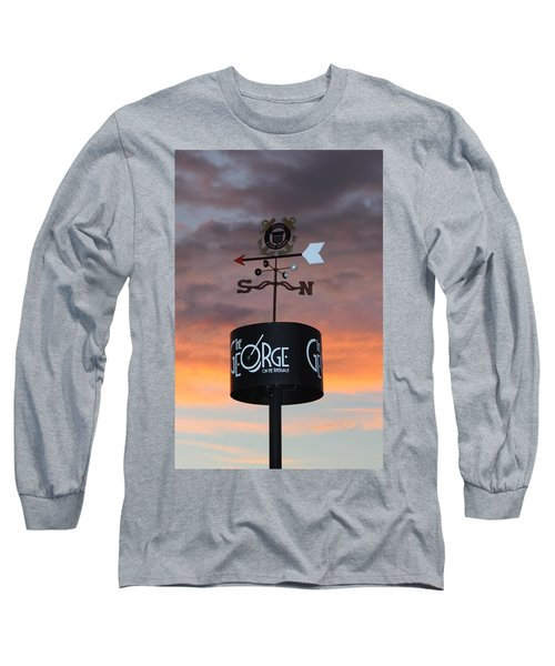 Long Sleeve T-Shirt featuring the photograph Direction by Cynthia Guinn