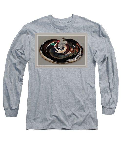 Disoriented Duck  Long Sleeve T-Shirt
