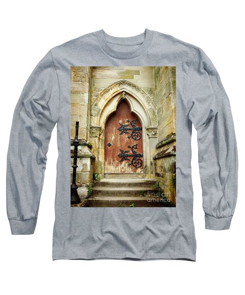 Distressed Door Long Sleeve T-Shirt
