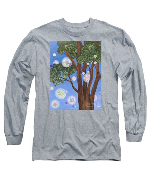 Divine Possibilities Long Sleeve T-Shirt by Cheryl Bailey
