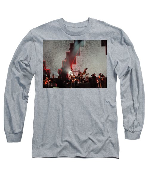 Long Sleeve T-Shirt featuring the photograph Dmb Members by Aaron Martens
