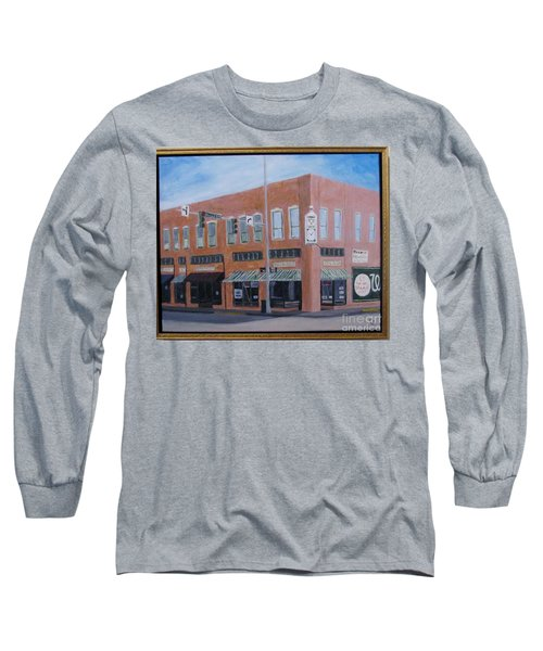 The Chavanne Building Long Sleeve T-Shirt