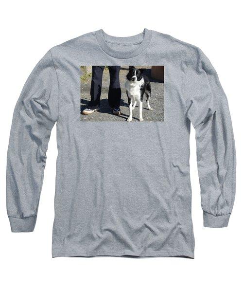 Dog And True Friendship 9 Long Sleeve T-Shirt by Teo SITCHET-KANDA