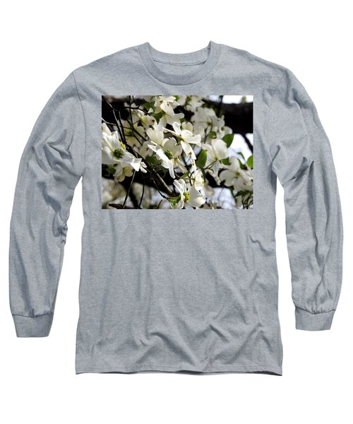 Dogwoods In The Spring Long Sleeve T-Shirt