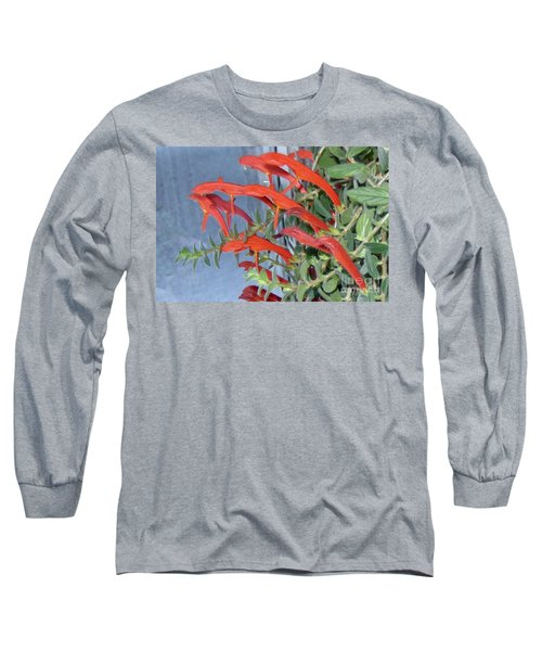 Long Sleeve T-Shirt featuring the photograph Dolphin Plant by Brenda Brown