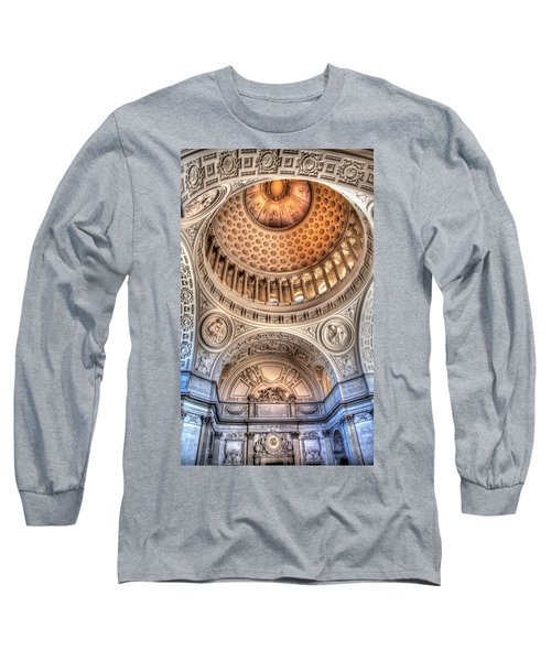 Domed Ornate Interior Long Sleeve T-Shirt