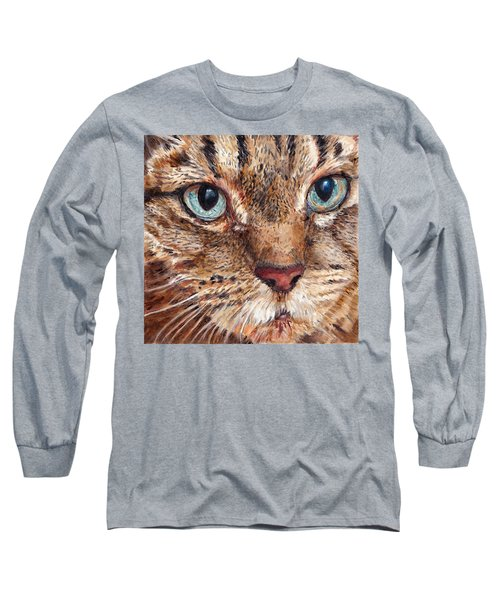Domestic Tabby Cat Long Sleeve T-Shirt