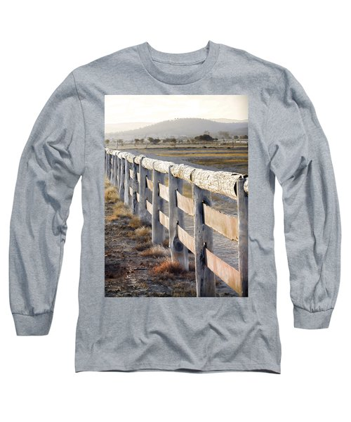 Long Sleeve T-Shirt featuring the photograph Don't Fence Me In by Holly Kempe