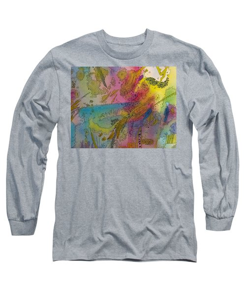 Doodle With Color Long Sleeve T-Shirt