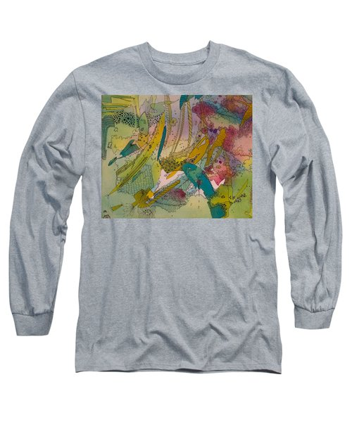 Doodles With Abstraction Long Sleeve T-Shirt