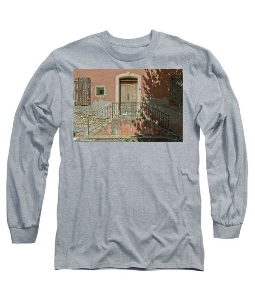 Door And Shadow Long Sleeve T-Shirt