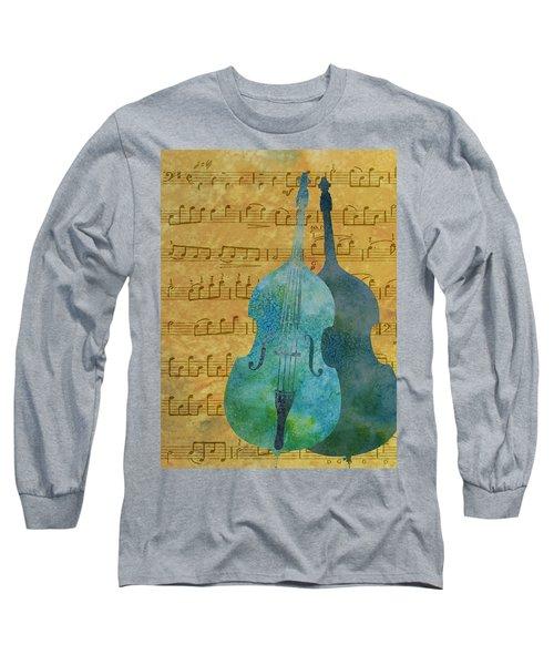 Double Bass Score Long Sleeve T-Shirt