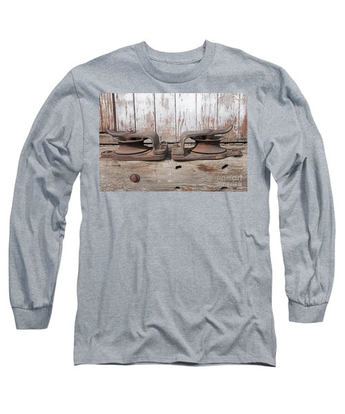 Double Pully Long Sleeve T-Shirt