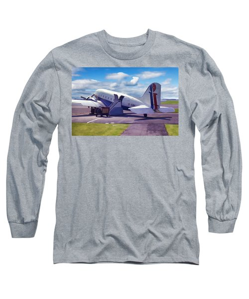 Douglas Dakota Dc3 Long Sleeve T-Shirt