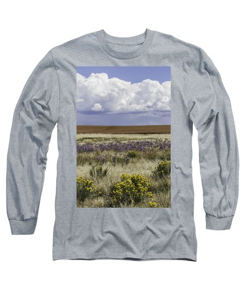 Dove Creek Fall Flowers Long Sleeve T-Shirt