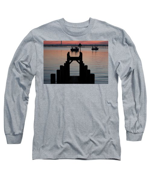 Down To The Sunset Sea Long Sleeve T-Shirt