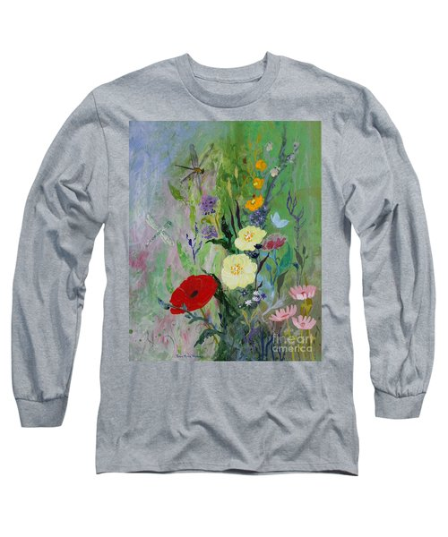 Dragonflies Dancing Long Sleeve T-Shirt