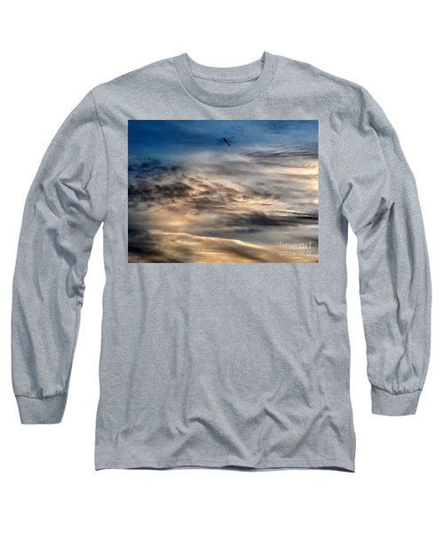 Dragonfly In The Sky Long Sleeve T-Shirt