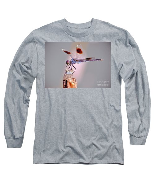 Long Sleeve T-Shirt featuring the photograph Dragonfly by Savannah Gibbs