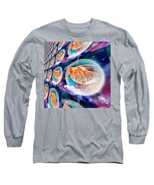 Dragonfly Time Warp Long Sleeve T-Shirt