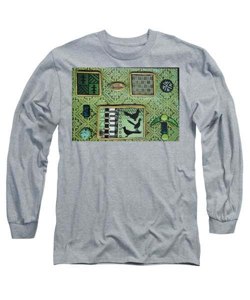 Dreams Collage Long Sleeve T-Shirt