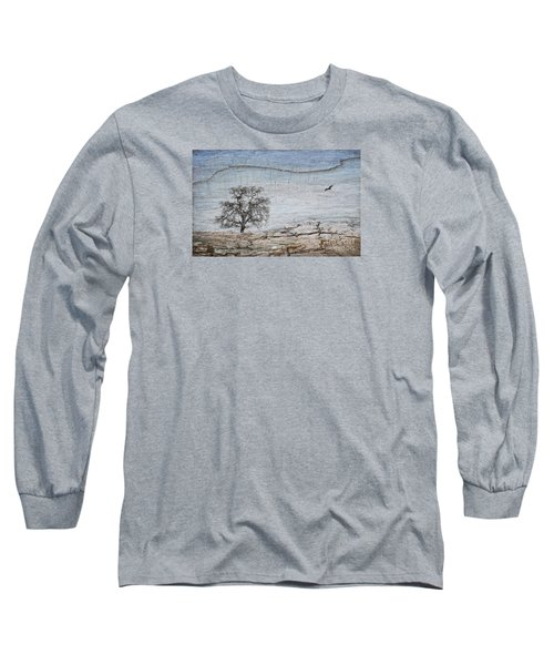 Drought Long Sleeve T-Shirt by Alice Cahill