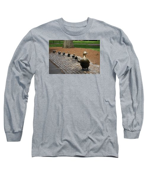 Ducklings Long Sleeve T-Shirt by Christiane Schulze Art And Photography