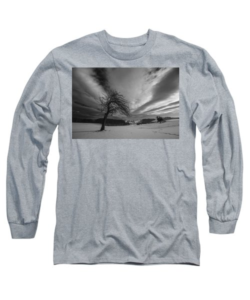 Long Sleeve T-Shirt featuring the photograph Duel by Davorin Mance